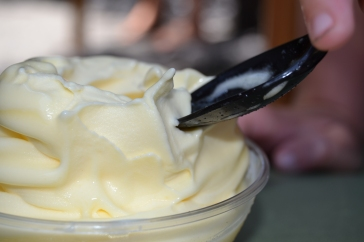 close up of dole whip
